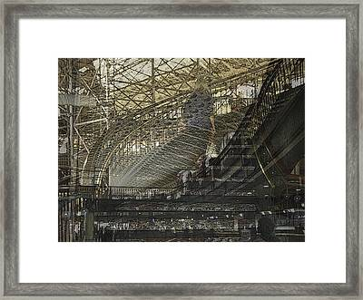 Asphalt Series - 4 Framed Print