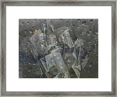 Asphalt Series - 5 Framed Print