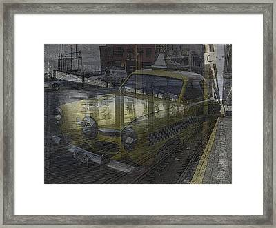 Asphalt Series - 8 Framed Print