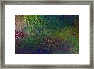 Framed Print featuring the digital art Assiduato by Jeff Iverson