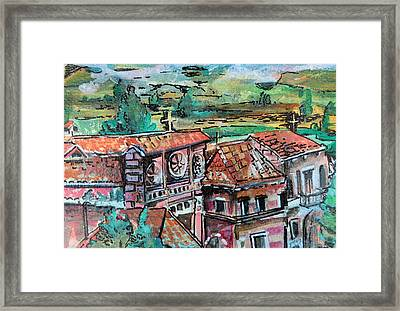 Assisi Italy Framed Print by Mindy Newman