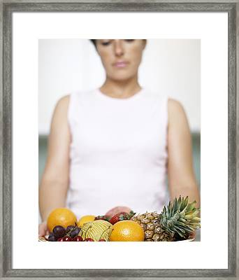 Assorted Fruit Framed Print by Cristina Pedrazzini