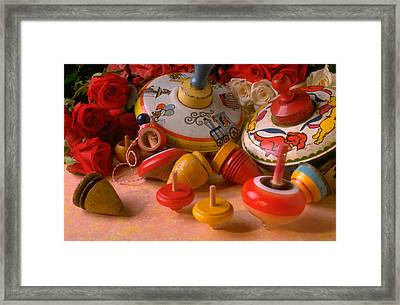 Assorted Tops Framed Print by Garry Gay