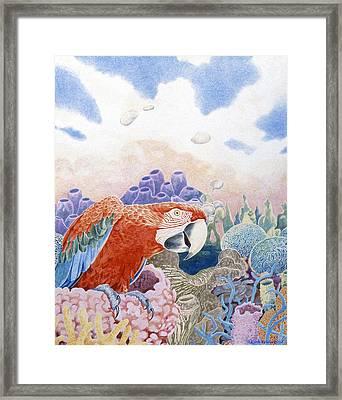 Astarte's Paradise Seven Framed Print
