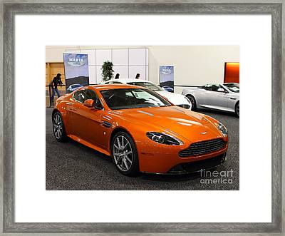 Aston Martin Db9 . 7d9624 Framed Print by Wingsdomain Art and Photography