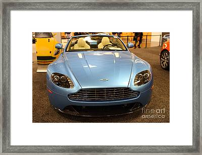 Aston Martin Db9 Convertible . 7d9623 Framed Print by Wingsdomain Art and Photography