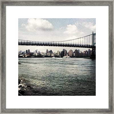 Astoria Park View Framed Print