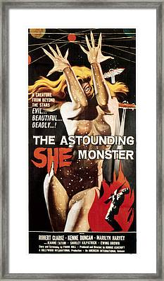 Astounding She-monster, 1957 Framed Print by Everett