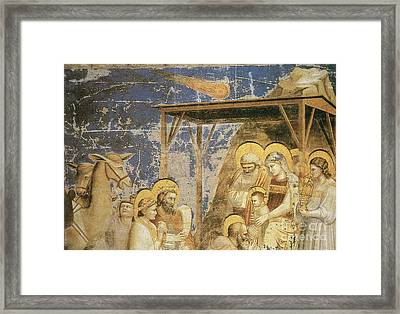 Astronomy In Painting Framed Print