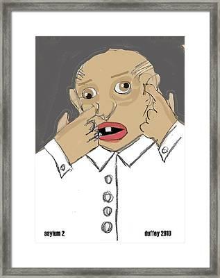 Asylum 2 Framed Print