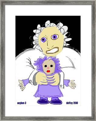 Asylum 3 Framed Print