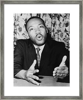 At A Press Conference On June 5, 1961 Framed Print by Everett
