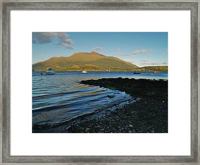 At Airds Bay Framed Print