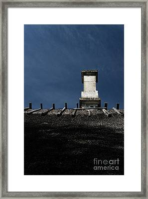 Framed Print featuring the photograph At Chimney Height by Agnieszka Kubica