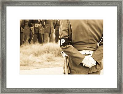 At Ease  Framed Print