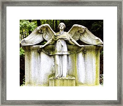 At Heavens Gate Framed Print