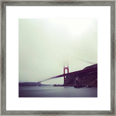 At Long Last My Summer Term Has Ended Framed Print