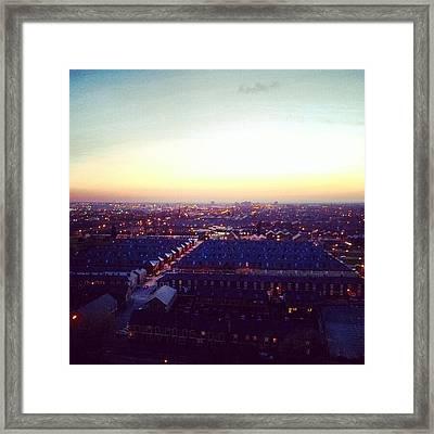 At @mqabshoqa Ap! #salfordshoppingcity Framed Print by Abdelrahman Alawwad
