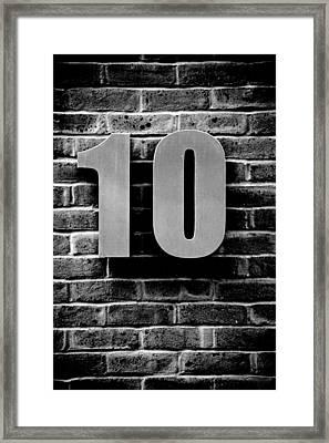 At Number 10 Framed Print by Jez C Self