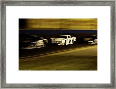 At Speed Framed Print