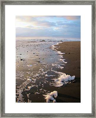At Sunset Framed Print
