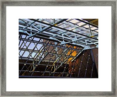 At The Amway Framed Print by Richard Gregurich