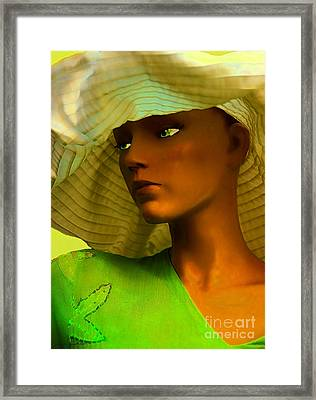At The Beach Framed Print by Jerry L Barrett