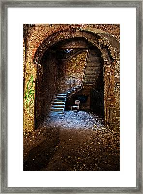 At The Bottom Framed Print