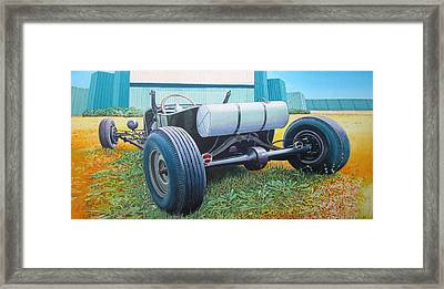 At The Drive In Framed Print