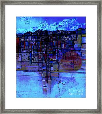 At The End Of The Day 3 Framed Print