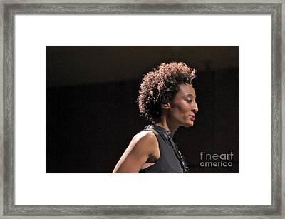 At The Fashion Show Framed Print by Sean Griffin