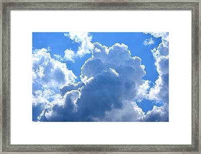At The Foot Of God Framed Print by Maria Urso