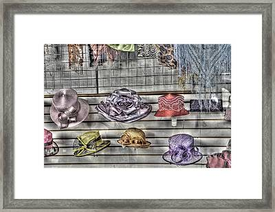 At The Milliners Framed Print by William Fields
