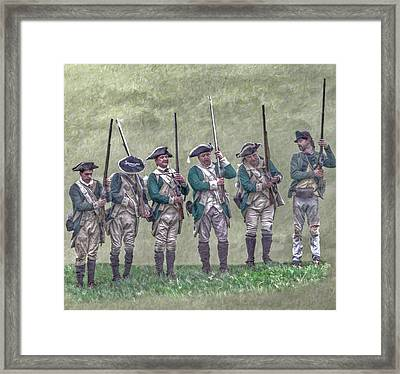 At The Ready Framed Print by Randy Steele