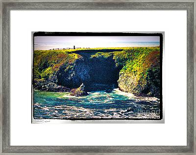 At The Seaside Framed Print by Happy Walls