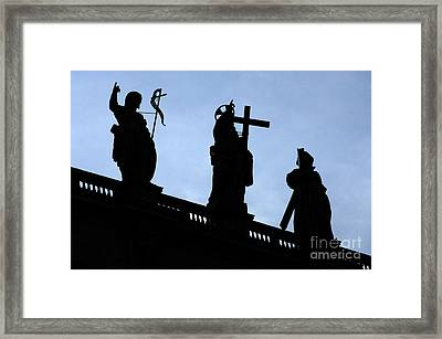 At The Vatican Framed Print