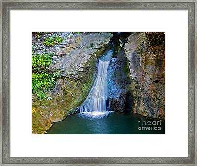 At The Well Framed Print by Robert Pearson