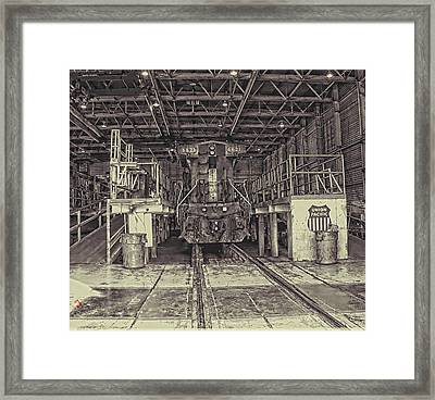 At The Yard Framed Print