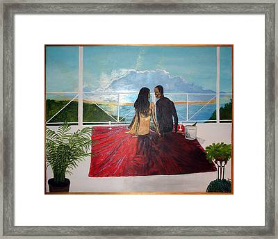 At This Moment Framed Print
