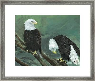 At Your Service Framed Print by Jamie Hartley