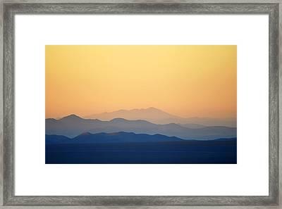 Atacama Hills Framed Print by Jmalfarock