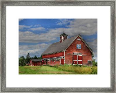 Atco Farms - 1920 Framed Print by Lori Deiter