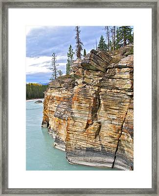Framed Print featuring the photograph Athabasca River by Brian Sereda