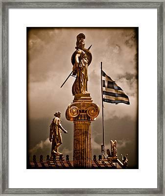 Athens, Greece - Athena Nike Framed Print