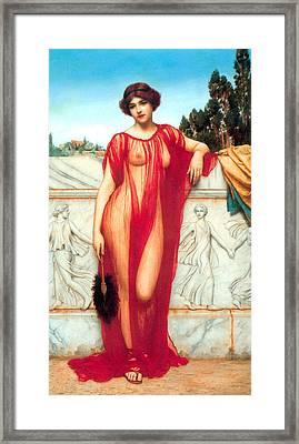 Athenais Framed Print by Sumit Mehndiratta