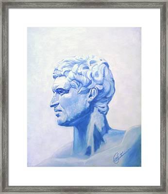 Athenian King Framed Print