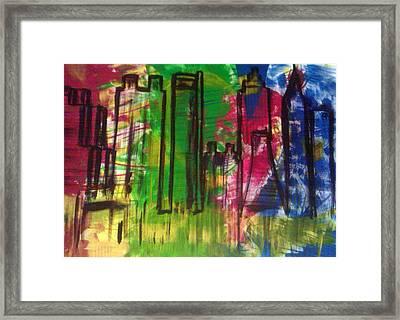 Atlanta Framed Print by Ari Meier