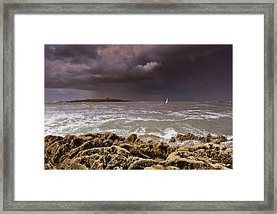 Atlantic Sky Framed Print