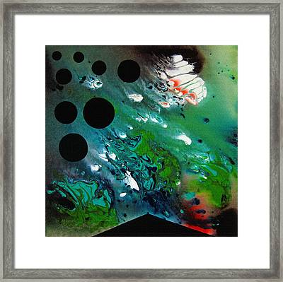 Framed Print featuring the painting Atlantis by Robert G Kernodle