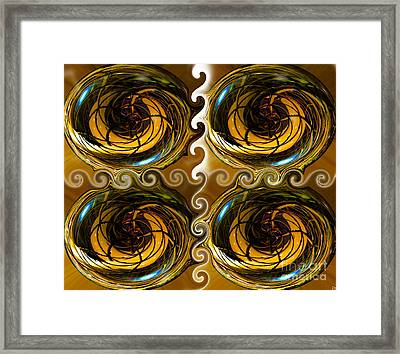 Atlantis The Lost Works Number One Framed Print by David Lee Thompson